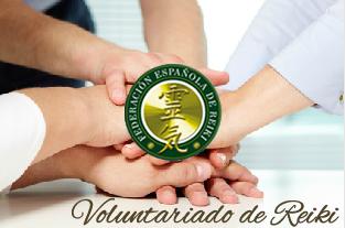 Voluntariado de Reiki Federación Española de Reiki
